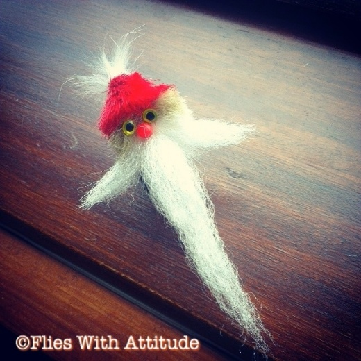 Santa fly - Christmas fly pattern