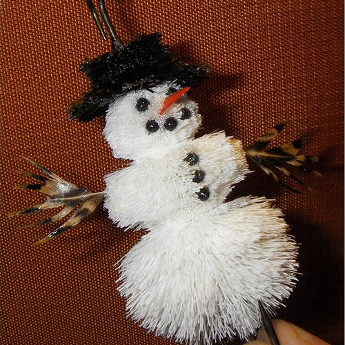 Snowman  Christmas Fly pattern