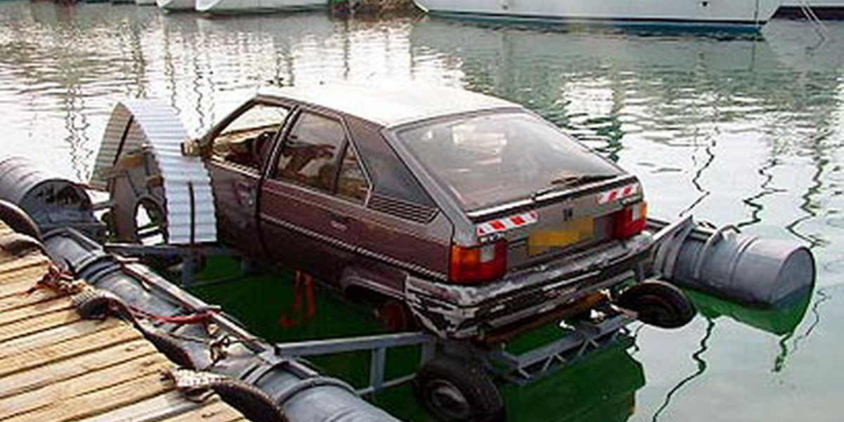 insane DIY boats