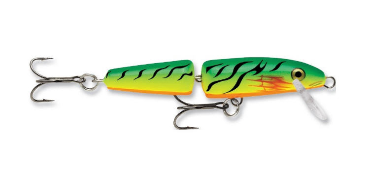 FireTiger Rapala for trolling for trout