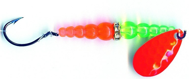Wedding ring fishing lure for trolling for trout
